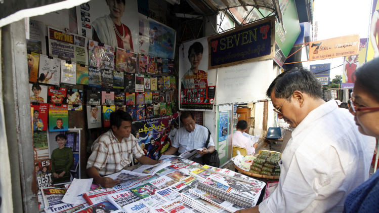 Myanmar to allow daily private newspapers