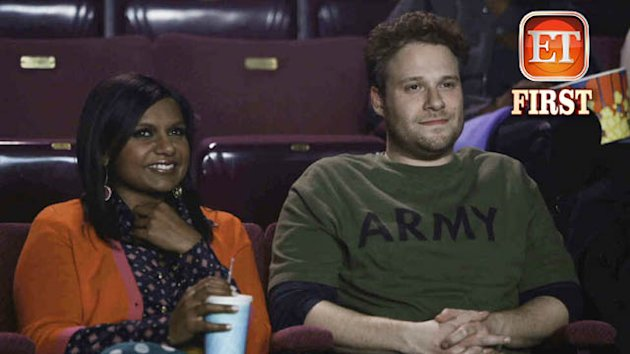Exclusive Pic: Seth Rogen & &#39;Mindy&#39; Are Lovers