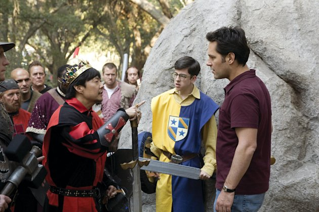 Ken Jeong Christopher Mintz-Plasse Paul Rudd Role Models Production Stills Universal 2008