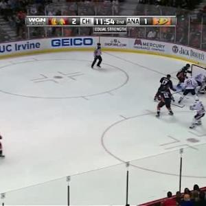 Frederik Andersen Save on Brandon Saad (08:08/2nd)