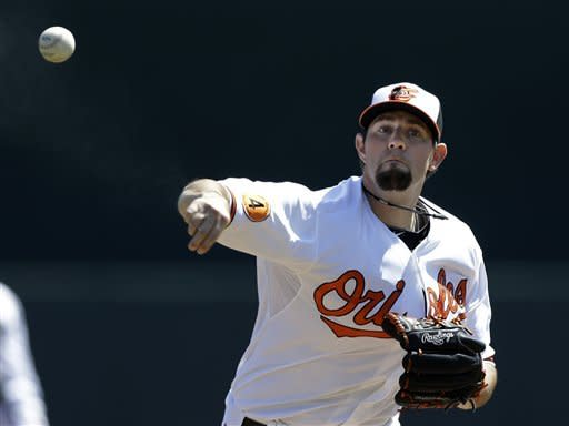 Flaherty's 3-run homer lifts Orioles over Toronto