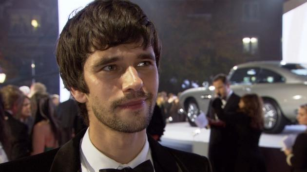 Ben Whishaw speaks with Access Hollywood at the Royal premiere of 'Skyfall' in London, Oct. 23, 2012 -- Access Hollywood