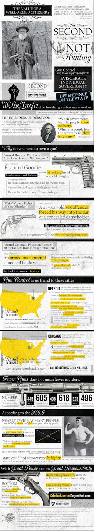 The Value of a Well Armed Citizenry [Infographic] image gun control2