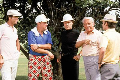 Chevy Chase , Rodney Dangerfield , Dan Resin and Ted Knight in Caddyshack