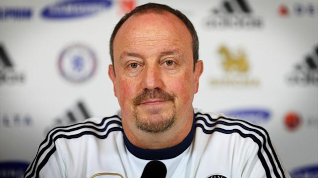 Rafael Benitez, pictured, succeeded Roberto Di Matteo as Chelsea boss