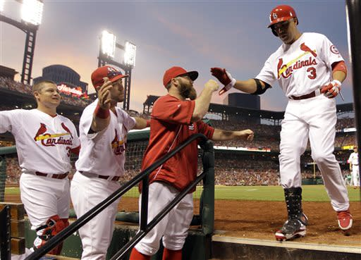 Westbrook's pitching, hitting lead Cardinals