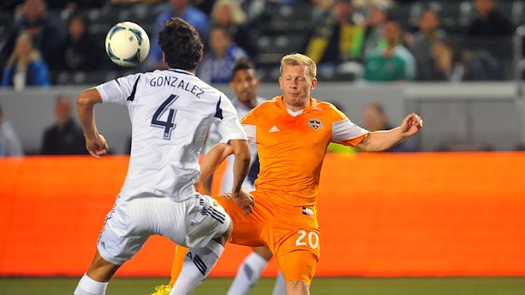 MLS: Houston Dynamo at Los Angeles Galaxy