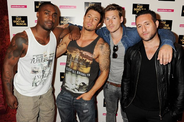 Blue: Simon Webbe, Duncan James, Lee Ryan und Antony Costa (von links) heute.