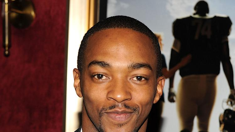 The Blind Side NY Premiere 2009 Anthony Mackie