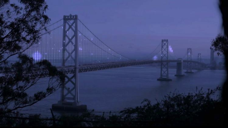 LED Technology Lights Up San Fran Bridge