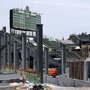 Raw: Wrigley Field Renovations in Full Swing