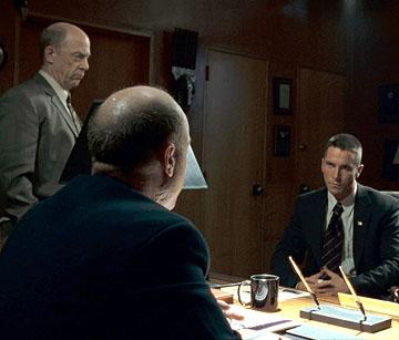 J.K. Simmons and Christian Bale in MGM's Harsh Times