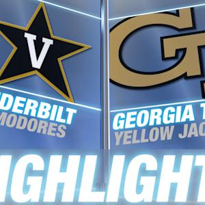 Vanderbilt vs Georgia Tech | 2014-15 ACC Men's Basketball Highlights