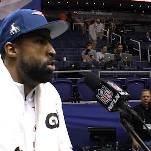 Best of Super Bowl XLIX Media Day: New England Patriots cornerback Brandon Browner