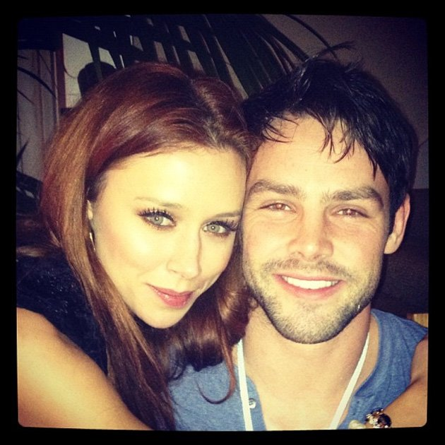Una Healy with Ben Foden