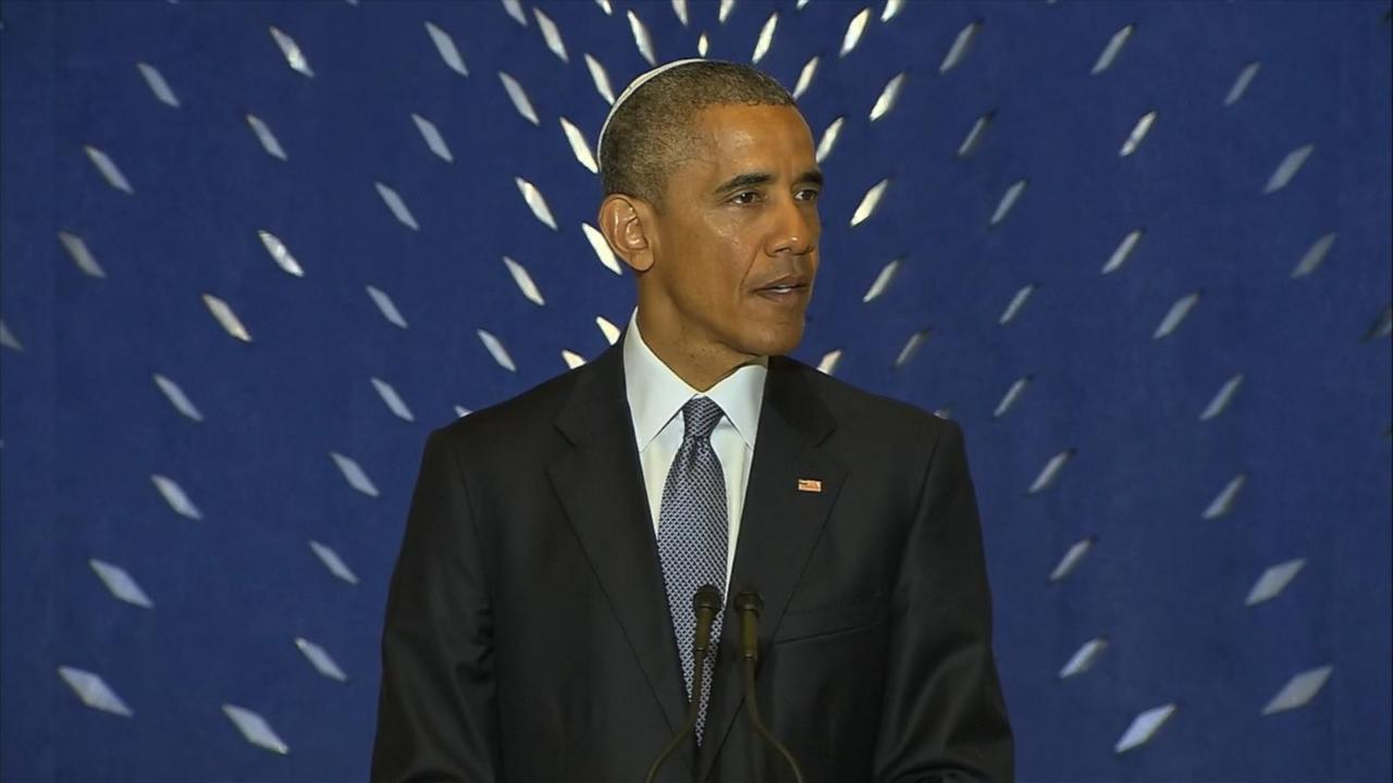 President Obama Talks Iran Nuke Deal with Jewish-American Community