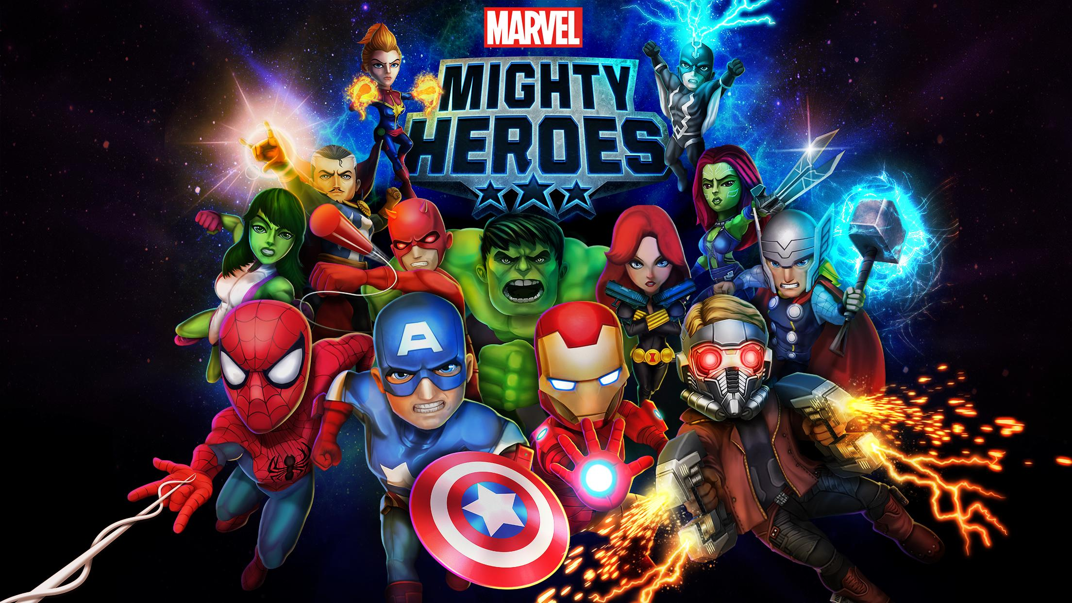 Marvel Heroes Real-Time Multiplayer Brawler Out Now