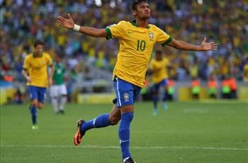 Neymar's best ever Brazil performance