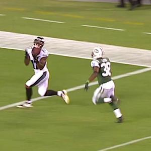 Philadelphia Eagles wide receiver Arrelious Benn 43-yard TD reception