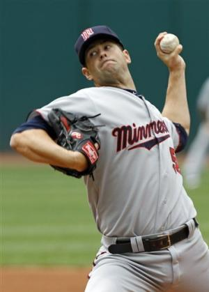 Diamond, Twins top Indians 5-3 to win series