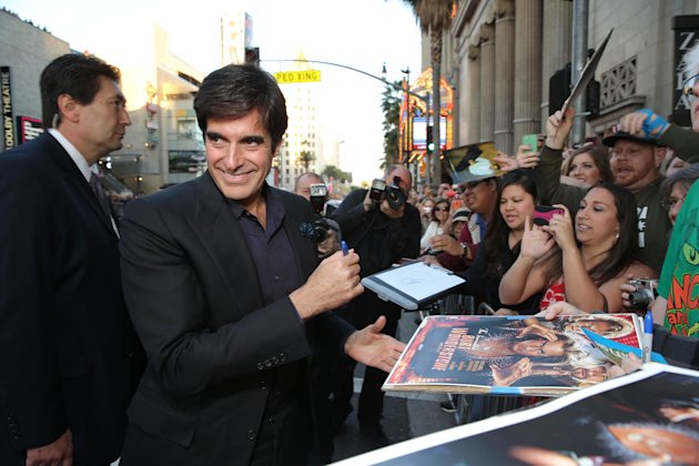 David Copperfield at New Line Cinema's World Premiere of 'The Incredible Burt Wonderstone' held at Grauman's Chinese Theatre on Monday, Mar., 11, 2013 in Los Angeles. (Photo by Eric Charbonneau/Invisi