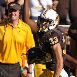 Mountain West Peak Plays: Wyoming WR Dominic Rufran Postgame Interview