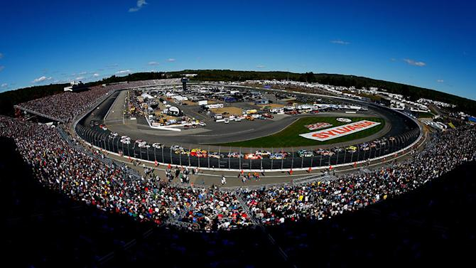 Entry list for New Hampshire Sprint Cup race