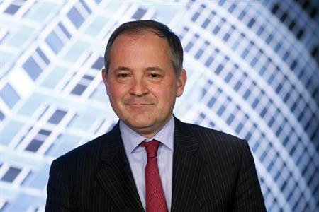 Benoit Coeure, executive board member of the European Central Bank (ECB) poses for a photo after an interview with Reuters in Frankfurt February 26, 2013. REUTERS/Ralph Orlowski