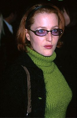 Gillian Anderson at the Beverly Hills premiere of Castle Rock's Proof Of Life