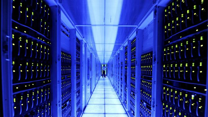 This March 23, 2012 photo provided by software maker SAP shows one of the company's server rooms in Walldorf, Germany. Among other tasks, SAP allows companies to use cloud computing to track sales and inventory, and to produce the reports that federal regulators require, without needing to hire IT employees. (AP Photo/SAP, Reto Klar)