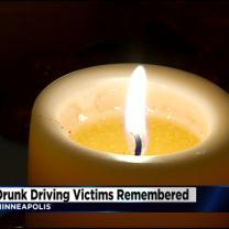 MADD Holds Candlelight Vigil For Drunken Driving Victims