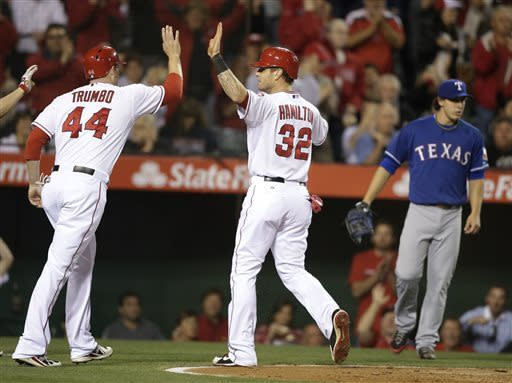 Pierzynski's HR pushes Rangers past Angels 7-6