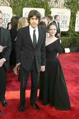 Adam Goldberg, Christina Ricci Golden Globes - 1/25/2004