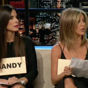 Aniston and Bullock Mock Chelsea Handler