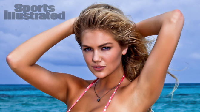 "In this image released by Sports Illustrated on Monday, Feb. 13, 2012, model Kate Upton  is shown in a photo from the ""Sports Illustrated 2012 Swimsuit Issue.""  Upton also graces the cover of the double issue now on sale at newsstands, tablet, mobile and at SI.com/Swimsuit. (AP Photo/Walter Iooss Jr. for Sports Illustrated) NORTH AMERICA USE ONLY UNTIL MARCH 2, 2012. MANDATORY CREDIT: WALTER IOOSS JR/SPORTS ILLUSTRATED"