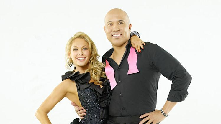 "Hines Ward teams with professional dancer Kym Johnson on Season 12 of ""Dancing with the Stars."""