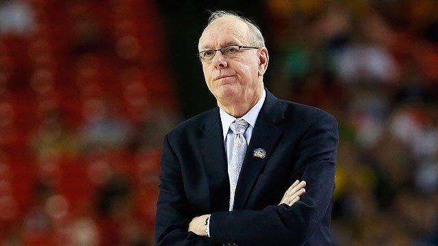 Jim Boeheim's testy exchange with reporter