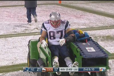 Rob Gronkowski could miss 'multiple weeks' with knee strain