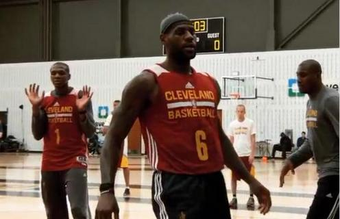 Here's Why LeBron James Is Wearing No. 6 on His Practice Jersey