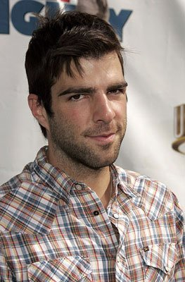 Zachary Quinto at the world premiere of Universal Pictures' Evan Almighty