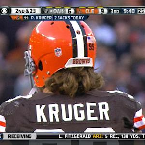 Week 8: Cleveland Browns linebacker Paul Kruger highlights