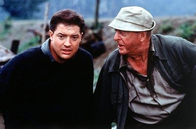 Brendan Fraser and Michael Caine in Miramax's The Quiet American
