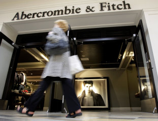 Abercrombie & Fitch store: Credit AP