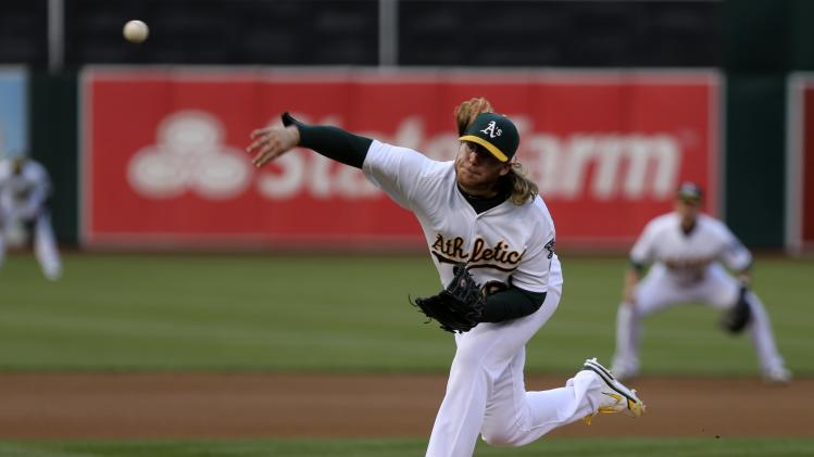 MLB: Toronto Blue Jays at Oakland Athletics