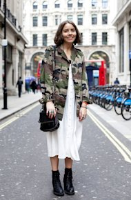 The Vintage Camouflage Jacket