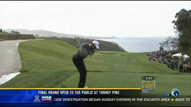 Final round open to the public at Torrey Pines