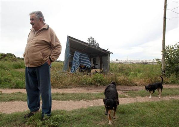 La austera vida de Mujica