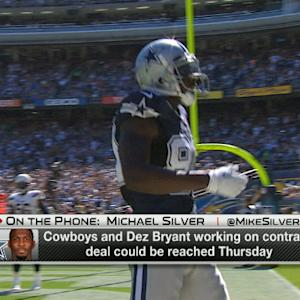 Talks intensify between Dallas Cowboys and wide receiver Dez Bryant