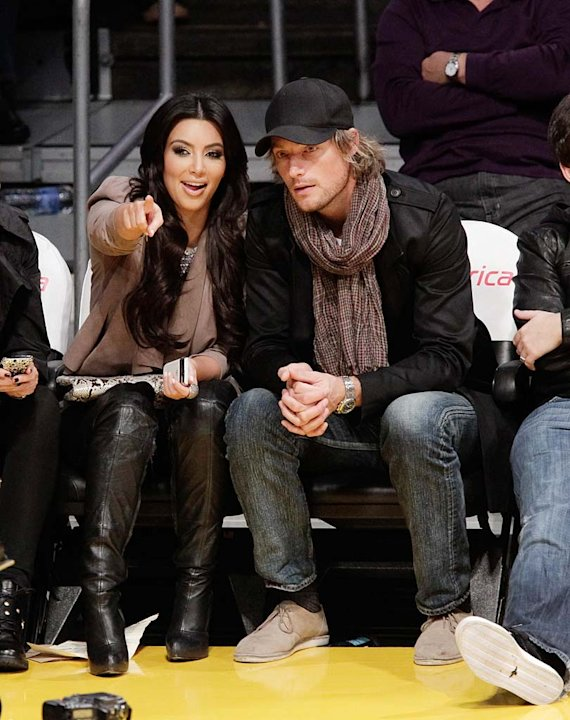 Kardashian Aubrey Lakers Game