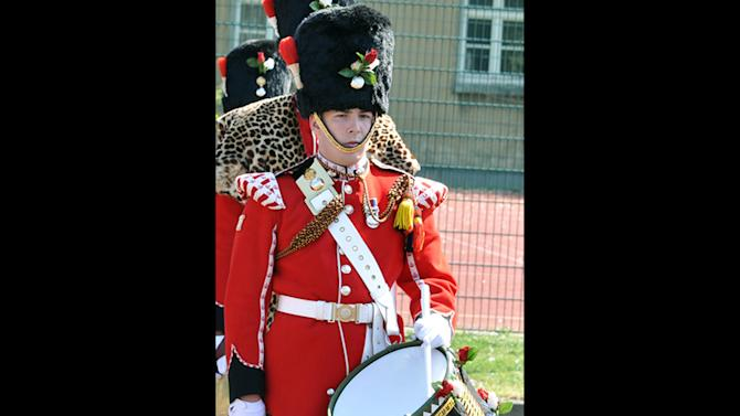 """This undated image provided Thursday, May 23, 2013, by the British Ministry of Defence, shows Lee Rigby known as 'Riggers' to his friends. Rigby has been identified by the MOD as the serving member of the armed forces who was attacked and killed by two men in the Woolwich area of London on Wednesday. The Ministry web site included the statement """"It is with great sadness that the Ministry of Defence must announce that the soldier killed in yesterday's incident in Woolwich, South East London, is believed to be Drummer Lee Rigby of 2nd Battalion The Royal Regiment of Fusiliers."""" (AP Photo/Ministry of Defence)"""